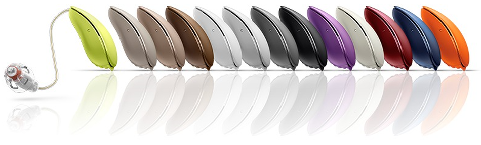Oticon Hearing Aid Colours
