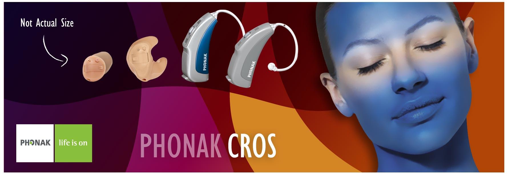 phonak cros hearing aids banner