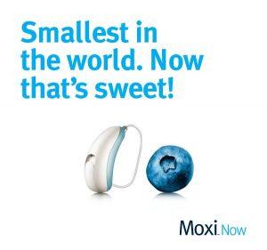 Unitron Moxi NOW – World's Smallest (RIC) Hearing Aid