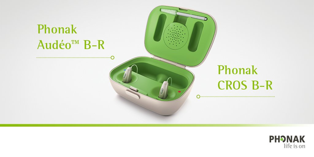 phonak cros rechargeable hearing aids
