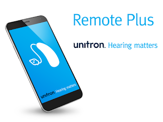 unitron remote plus smart phone app