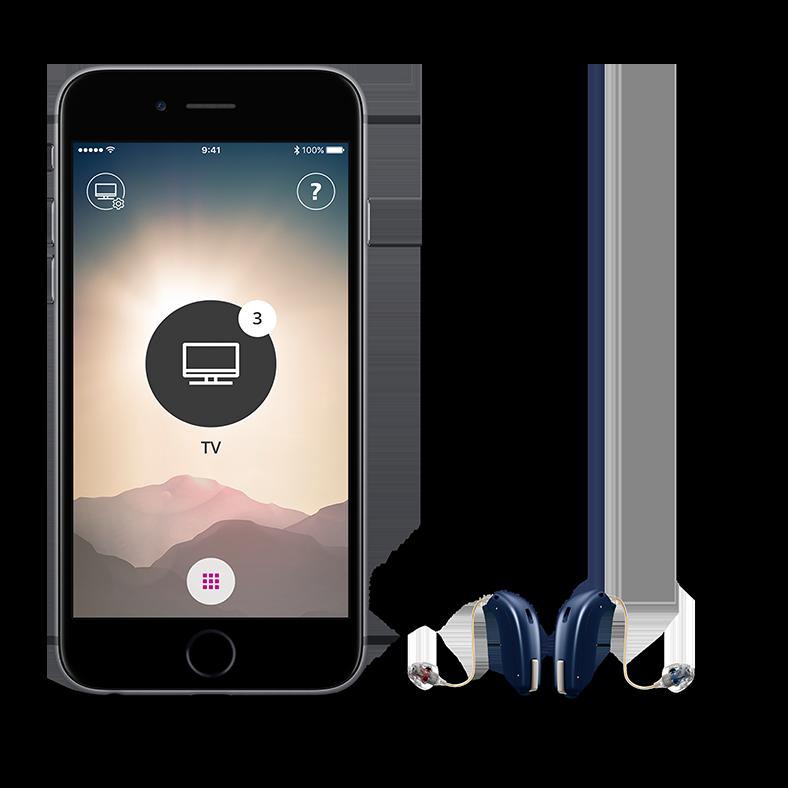 Oticon OPN phone app