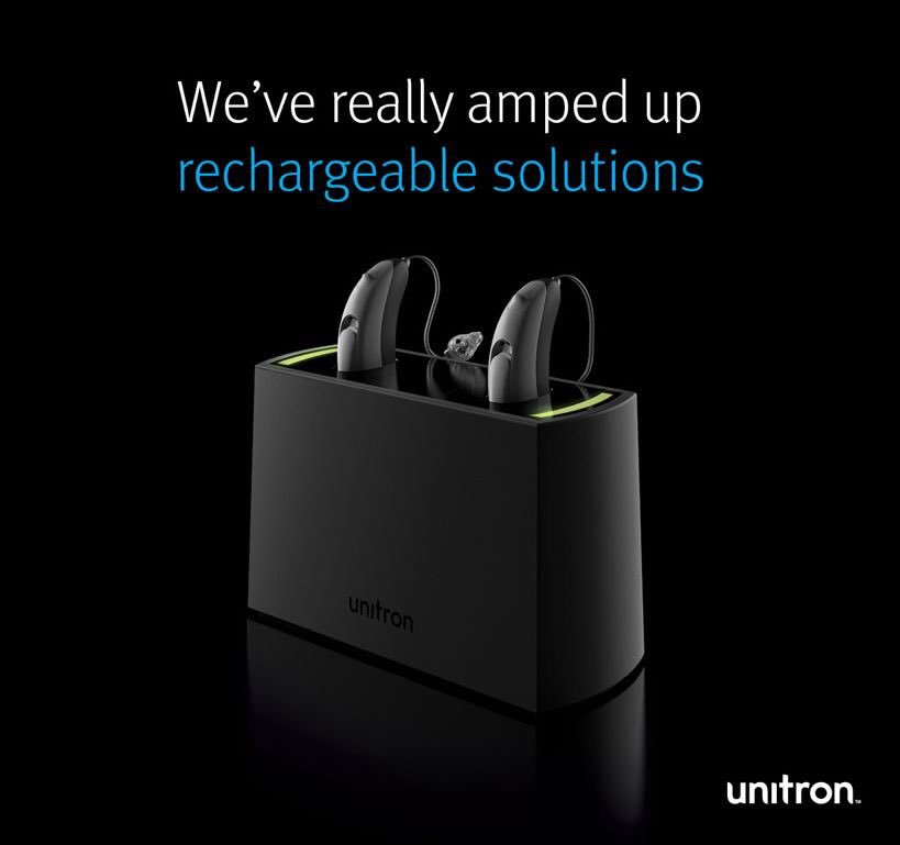 unitron rechargeable hearing-aids