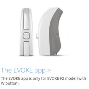 Widex Evoke Fusion-2 App