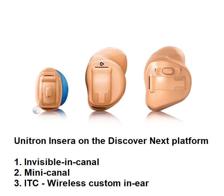 Unitron Insera Hearing Aids