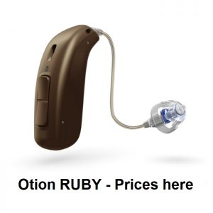 Oticon RUBY Hearing Aids
