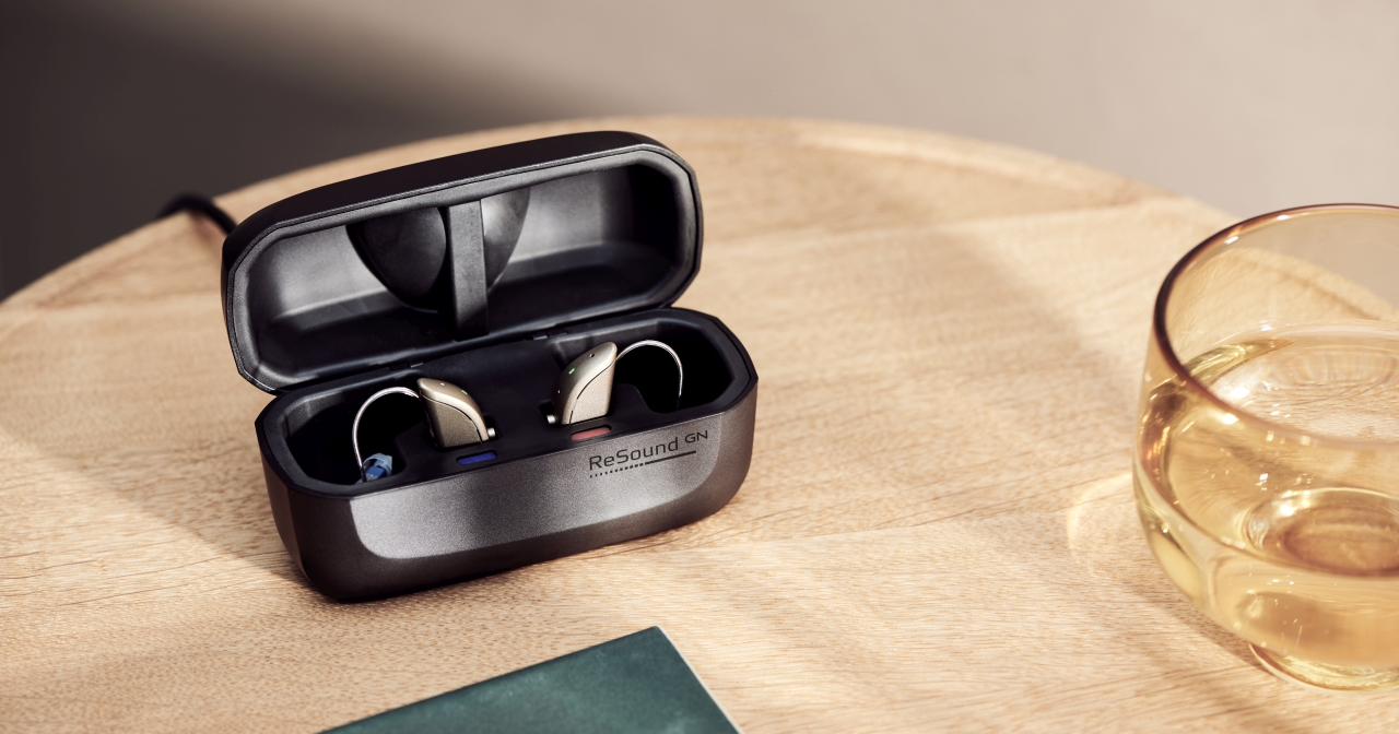 resound one hearing aid charger