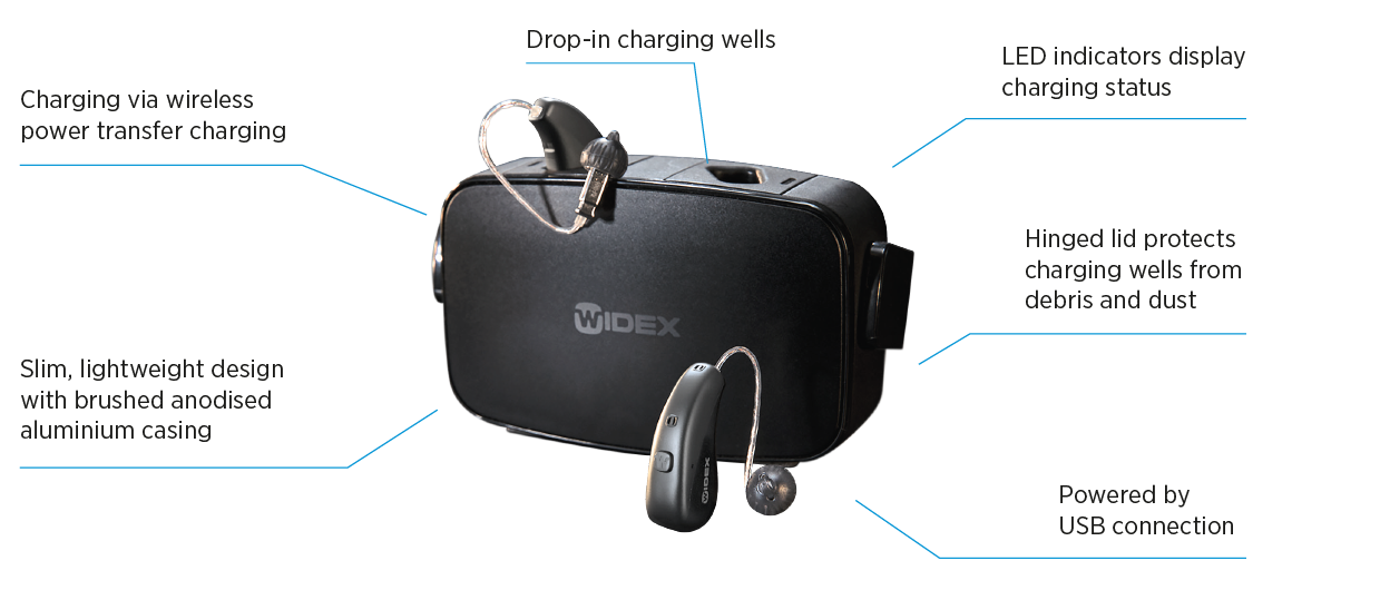 Widex Moment Rechargeable Hearing Aids