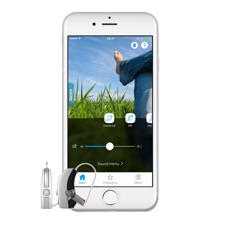 Widex Moment iPhone hearing aids